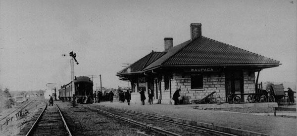 Waupaca Historical Society Railroad Depot